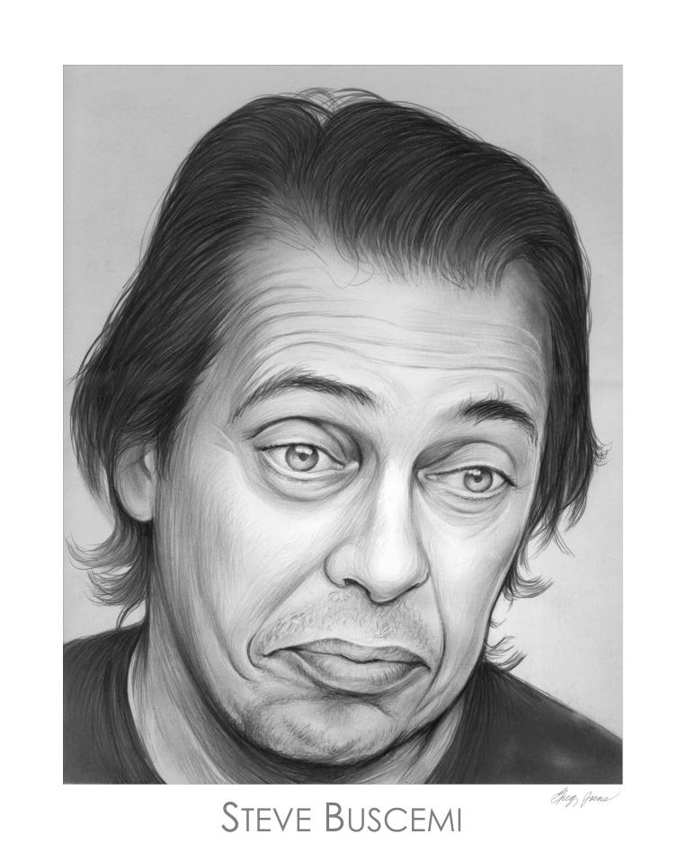 Steve Buscemi By Gregchapin On Deviantart Celebrity Drawings Portrait Steve Buscemi