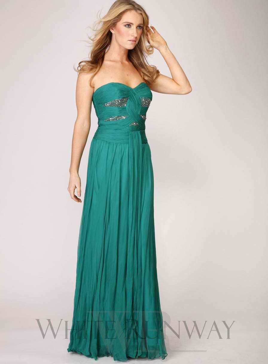 Natalie portman inspired ferrari silk bridesmaid dress bridal