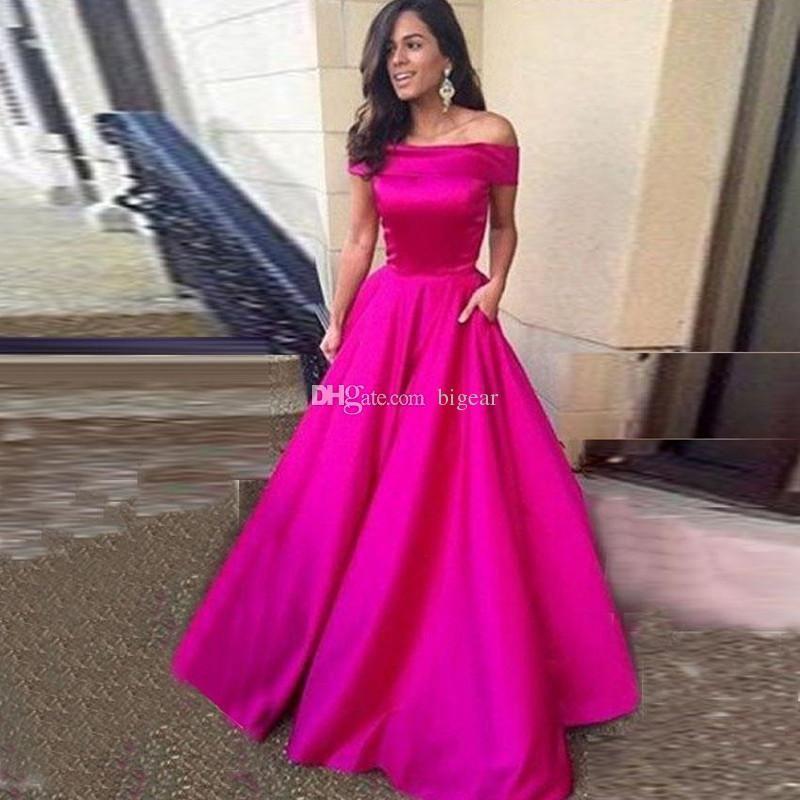 Evening Dress Off the Shoulder Party Dress Prom Dress   Dress prom ...
