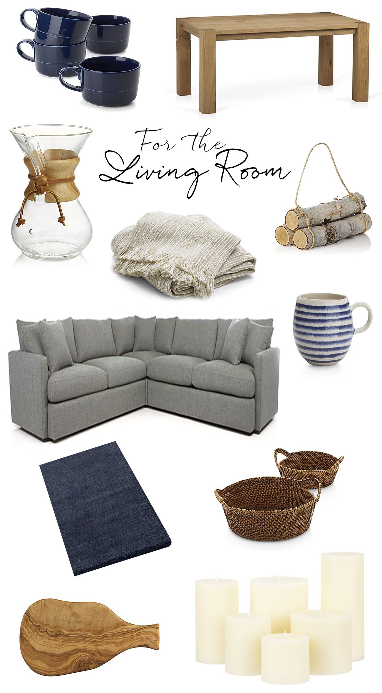 Bring hygge into your home with crate and barrel scandinavian