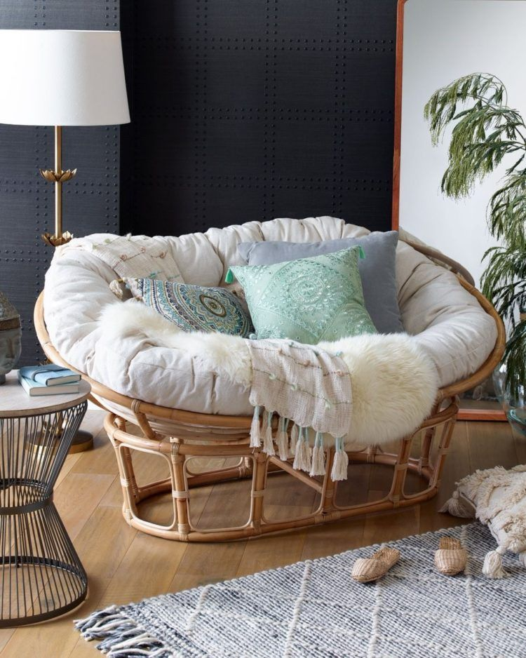 There Are Many Types Offered In The Develop Of A Papasan Chair Integrated With Fashionable Layouts A Papasan Chair Living Room Comfy Chairs Living Room Chairs