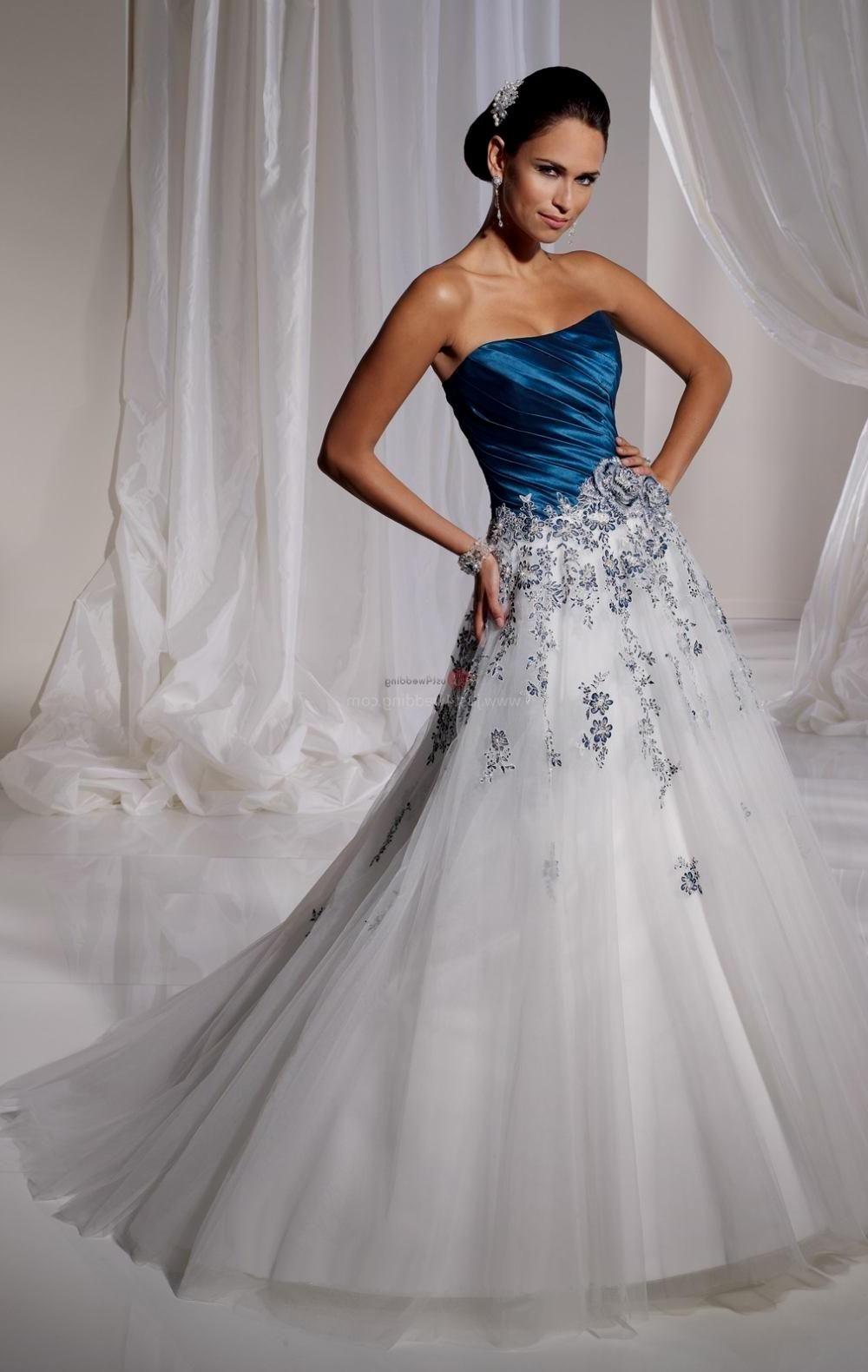 Image result for navy blue dresses for wedding bride diamonds in ...