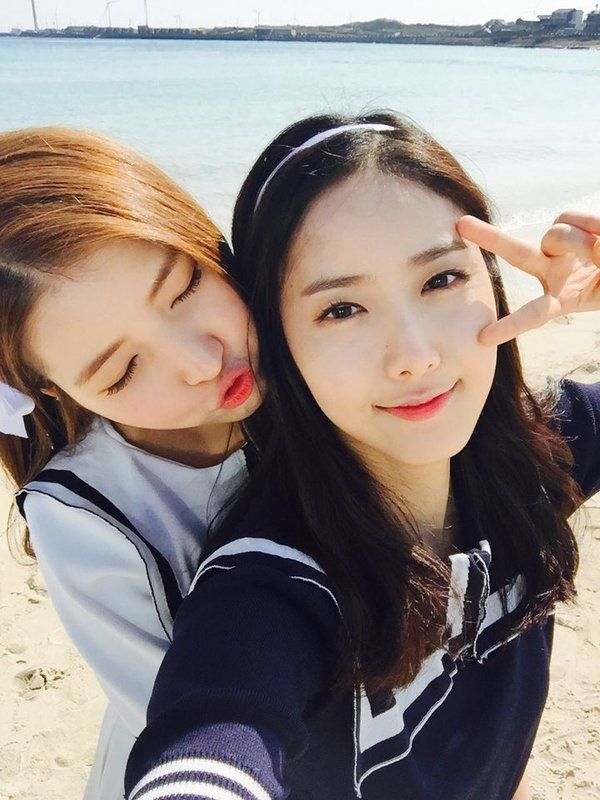 sowon y sinb de gfriend