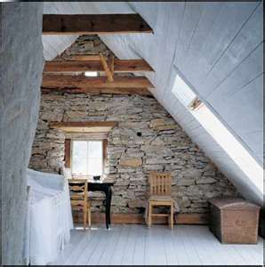 Marvelous Beautiful A Frame House With Beams And White Wash Floors!