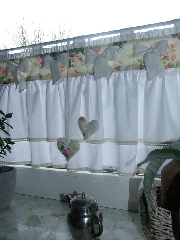 Werken  Bauen - DIY-Anleitungen Shabby, Window and Curtain ideas - shabby chic küche