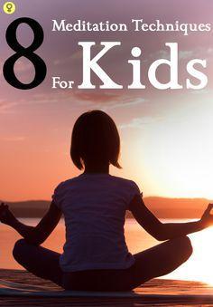 7 simple meditation techniques for kids  yoga for kids