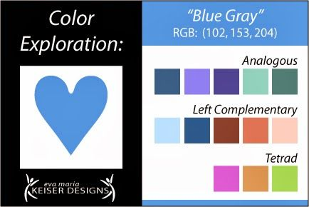 Explore Color:  Blue Gray