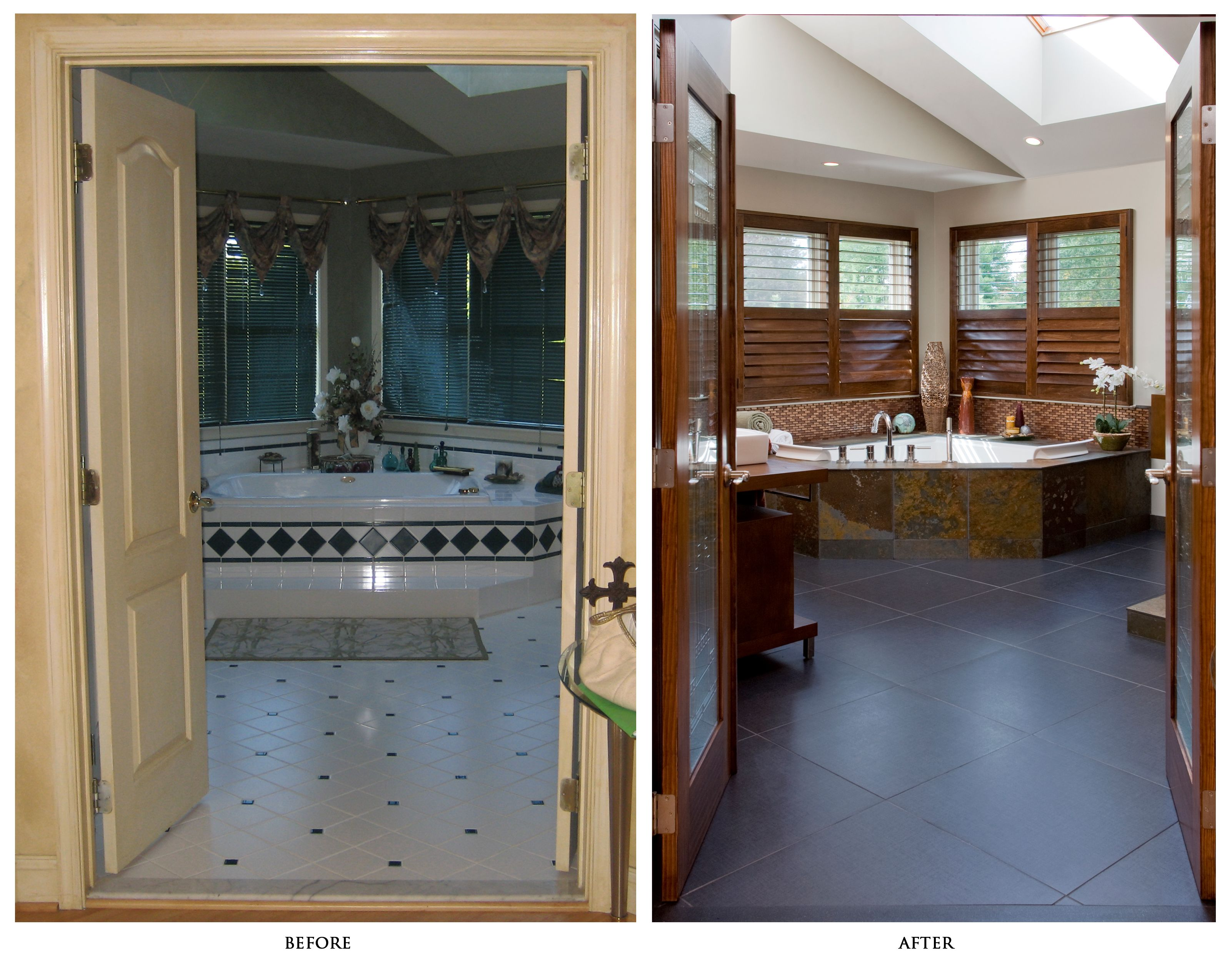 Pics Of Bathroom Large And Luxury Bathroom Remodels Before And After Tips On How To Save Budget In