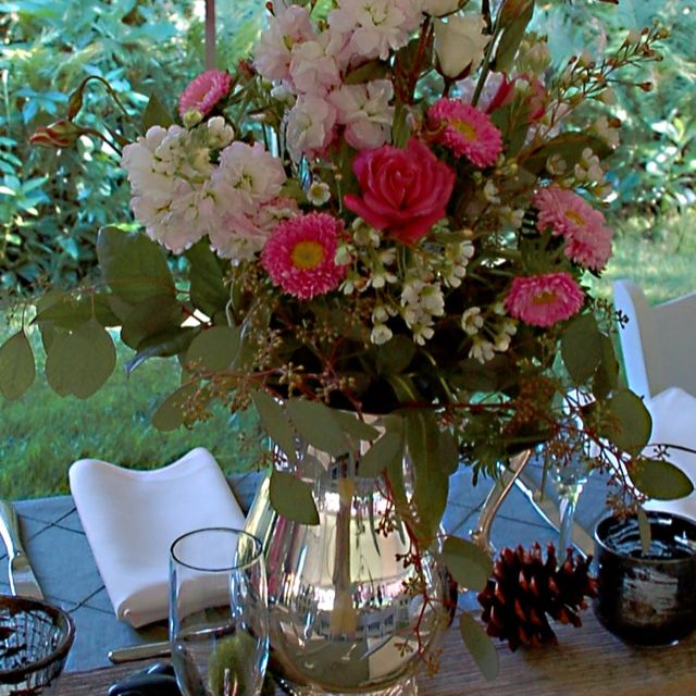 Vermont Wedding Flowers: Floral Arrangements By Pamela For July Wedding In Stowe