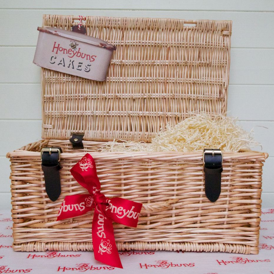 Our empty handsome hamper just waiting to be filled with gluten our empty handsome hamper just waiting to be filled with gluten free cakes and cookies negle Image collections