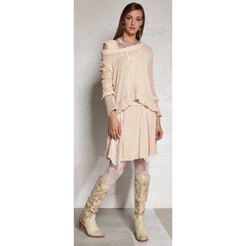 ELISA CAVALETTI Elisa Cavaletti Barmlume Dress Peach ELP152025304 - ELISA CAVALETTI from Kennedi Boutique UK
