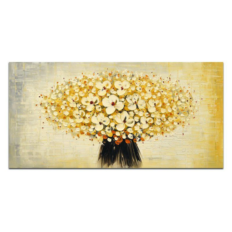 OMAX Decor Bunched Cherry Blossoms Wall Art - M 3143 | Products ...