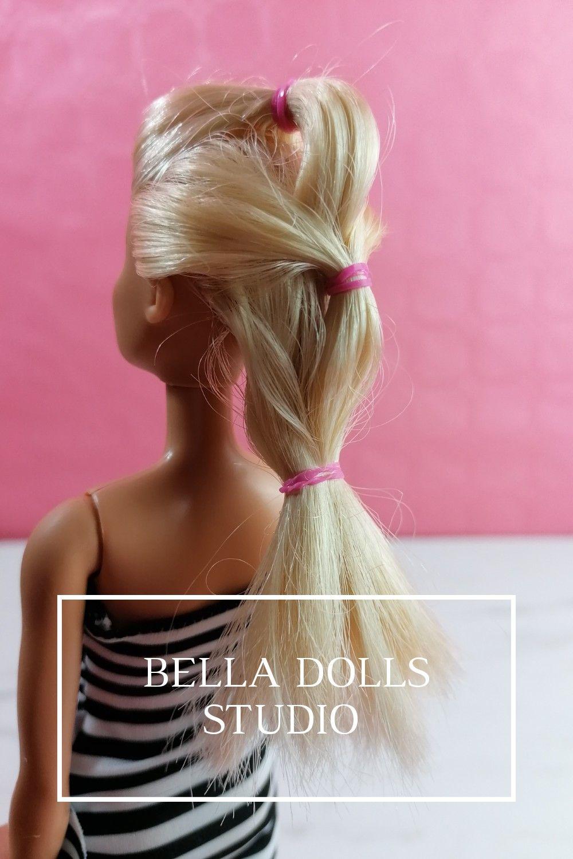 6 Idees De Coiffures Tres Faciles A Realiser Coiffure Barbie Coiffure Facile Idees De Coiffures