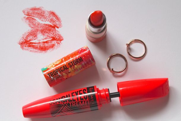 An orange lip is quite a statement, but you're going to absolutely rock it.