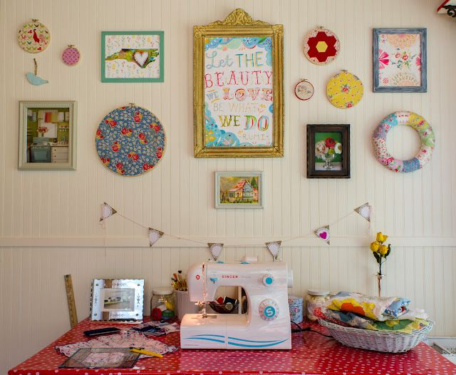 adorable craft space