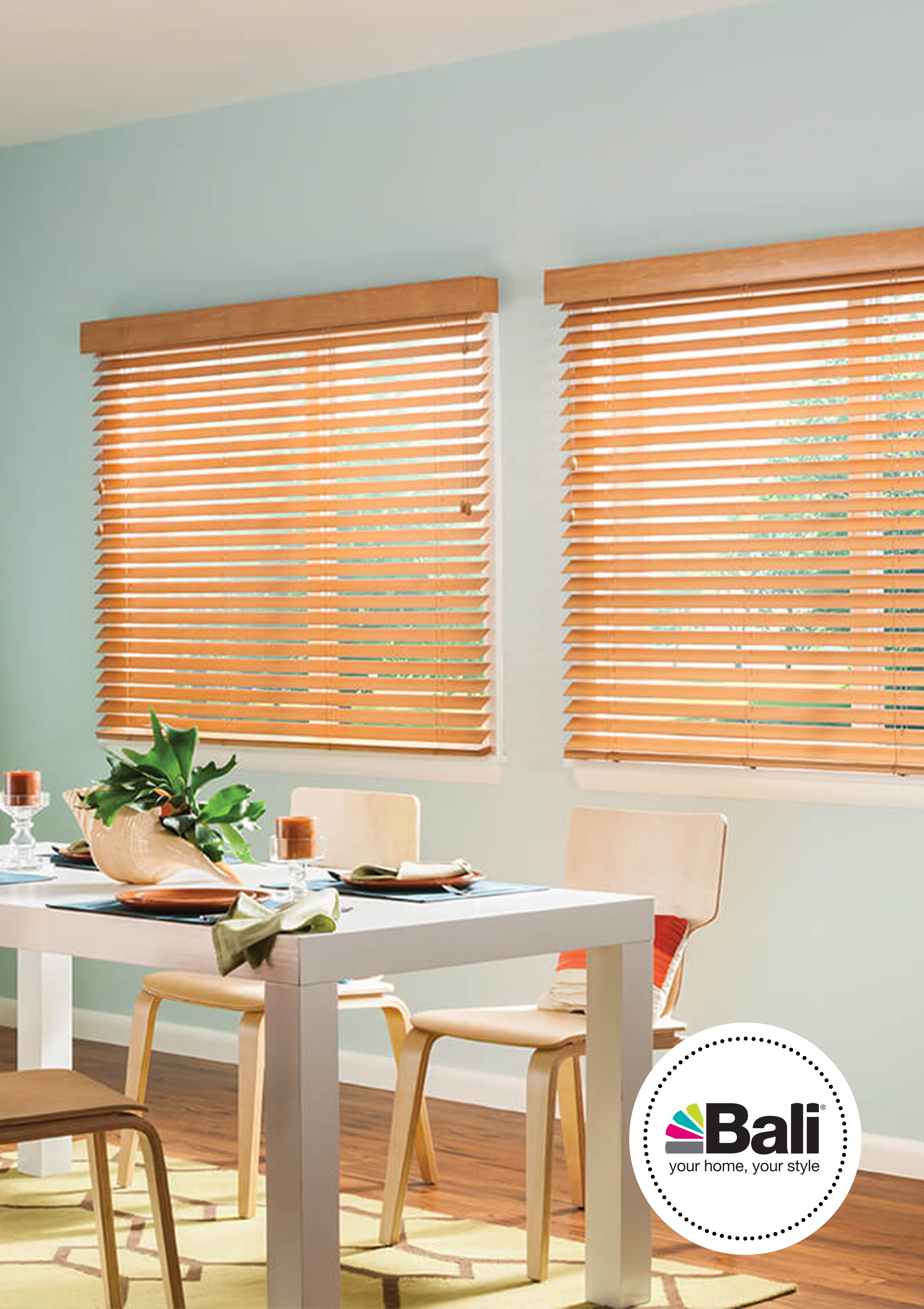 2 Quot Value Wood Blinds With Cord Tilt And 3 Quot Standard