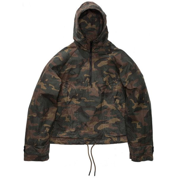 YEEZY SEASON 1 THIN CAMO JACKET ($1,138) ❤ liked on