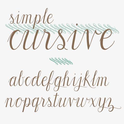 isly simple cursive typeface | Word | Pinterest | Cursive, Fonts ...