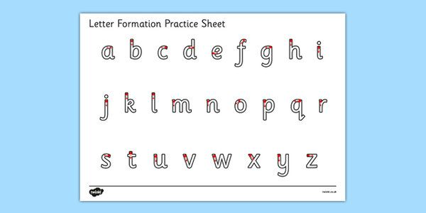 Writing & Letter Formation Primary Resources, handwriting ...