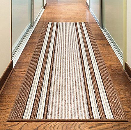 New Beige Cream Brown Colorful Modern Washable Non Slip Kitchen Utility Hall Long Runner Door Mat Rug 5 Sizes Available 50x80cm 1 8 X2 4 Home Decor Home Decor Shops Kitchen Utilities