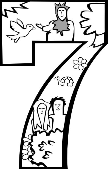 creation coloring pages kjv - photo#37