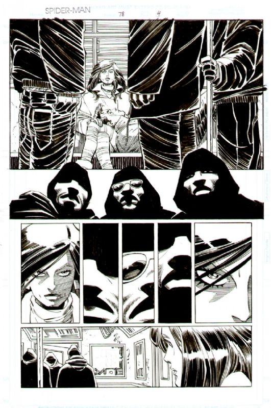 Romita jr - Spiderman 78 page 4 Comic Art