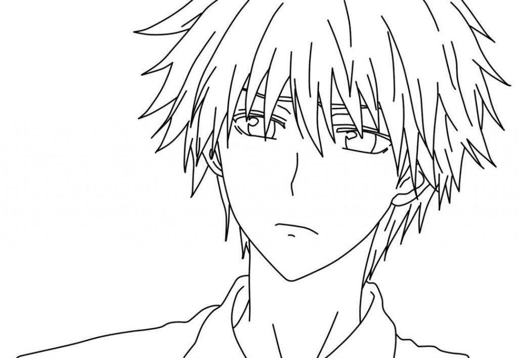 16++ Anime character anime coloring pages for adults inspirations