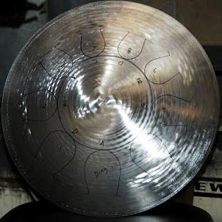 Beautiful hang drum