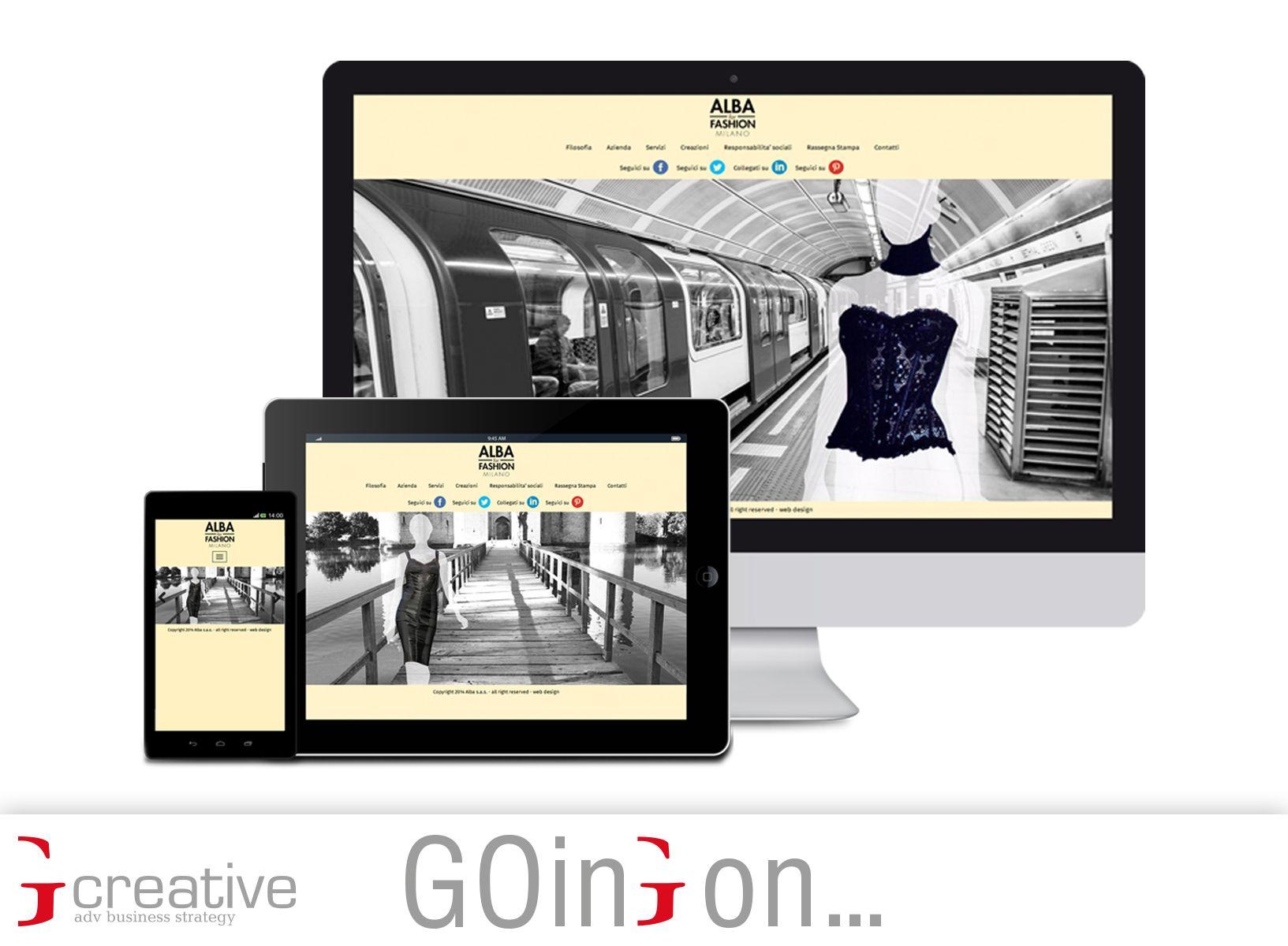 Per Alba For Fashion Milano abbiamo realizzato un nuovo sito web che mette in primo piano le creazioni della corsetteria e i dettagli del ricamo. Ottimizzato per la fruizione su smartphone e tablet. bit.ly/Gaia_AlbaForFashion