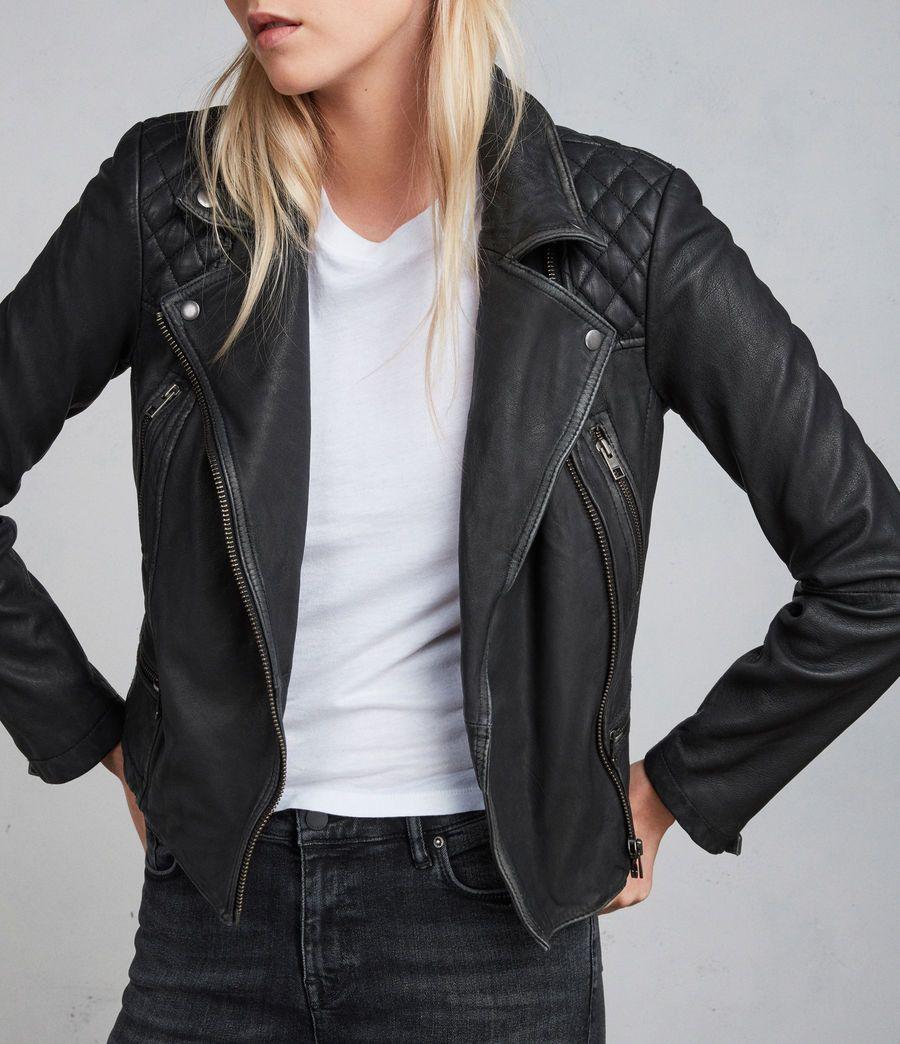 Cargo Leather Biker Jacket Leather jacket, Leather