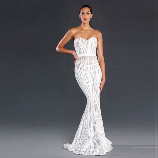 2a97d36509c Fashionably Yours - Jadore Dress Marilyn in White