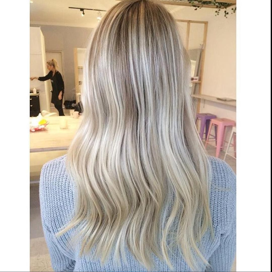 Blonde Hair Colour Specialists On Instagram Freehand Lowlights Painted Into Bleach Blonde Ends Loving Dimensio Bleach Blonde Bleach Blonde Hair Blonde Ends