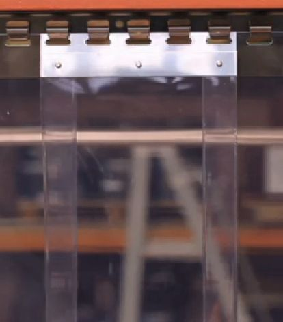 Redwood Strip Curtains Energy Saving Industrial Pvc Strip Door