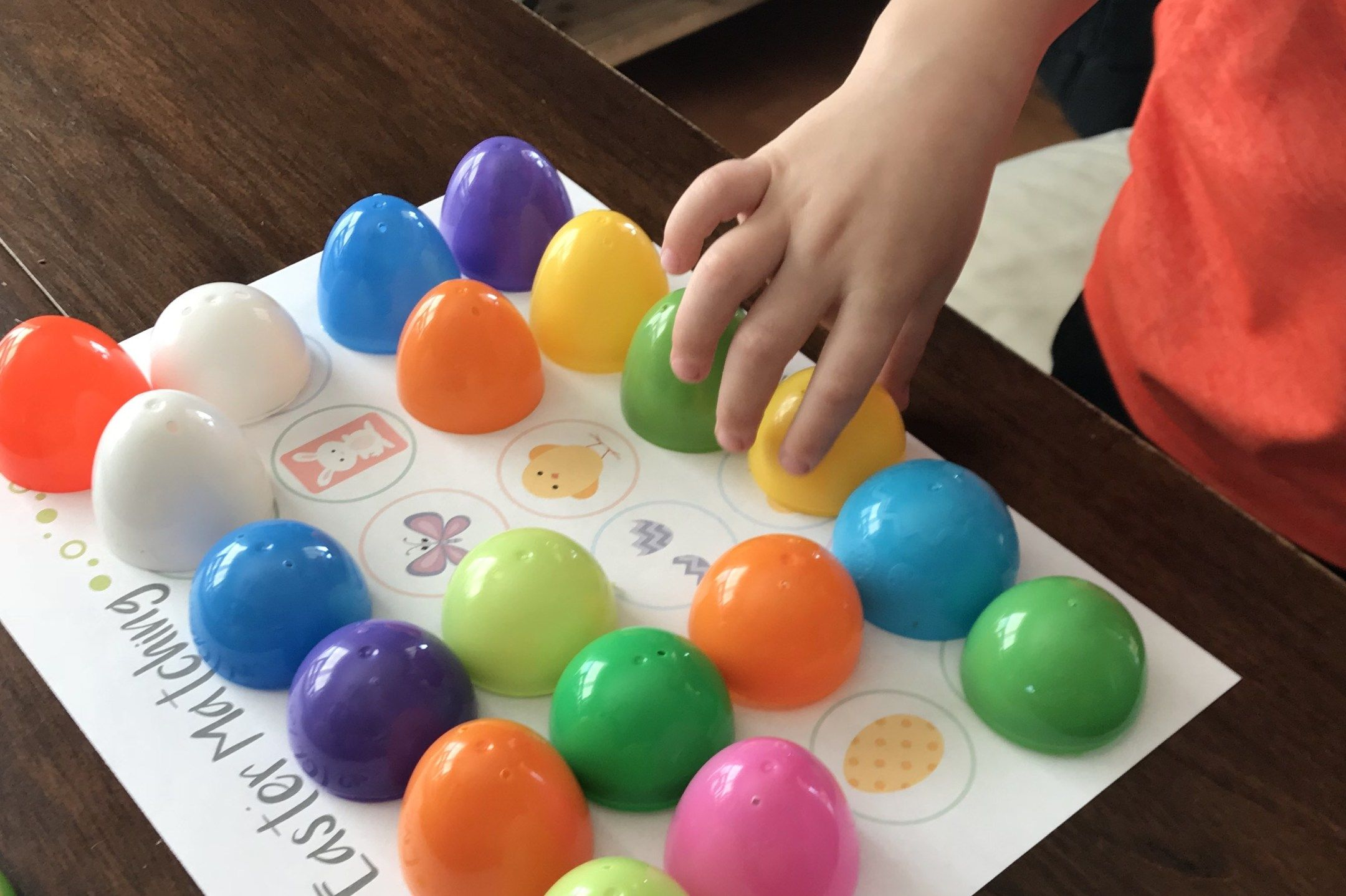 Free Printable Easter Matching Game For Kids Using Easter