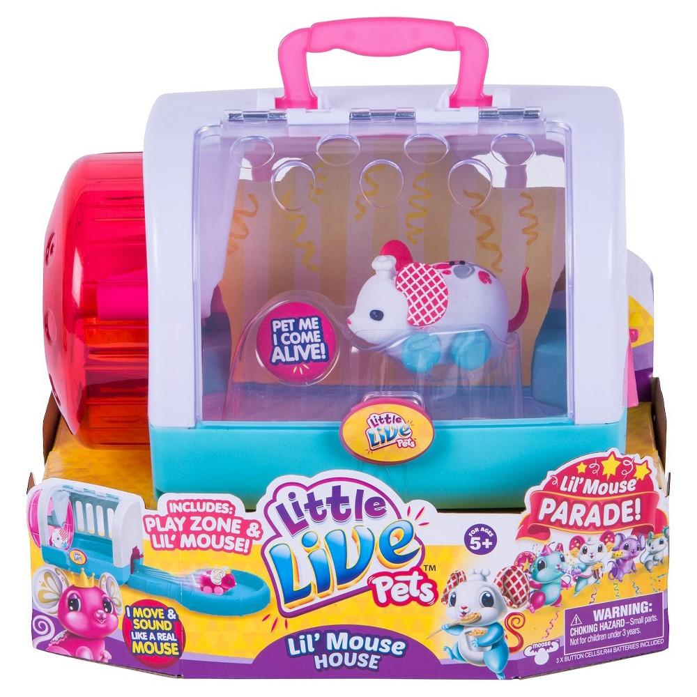 Little Live Pets Lil Mouse House Twitchy Little Live Pets