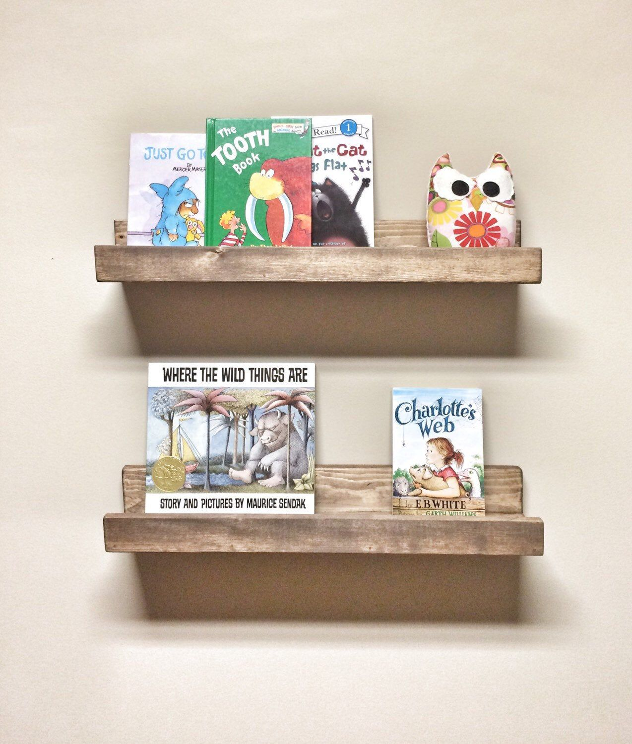 Set Of 2 Picture Ledge Shelves 24 Inch Floating Shelves Nursery Kids Room Shelf Toy Book Shelf Rustic Wood Shelves Gallery Wall Shelf Picture Ledge Shelf Gallery Wall Shelves Ledge Shelf