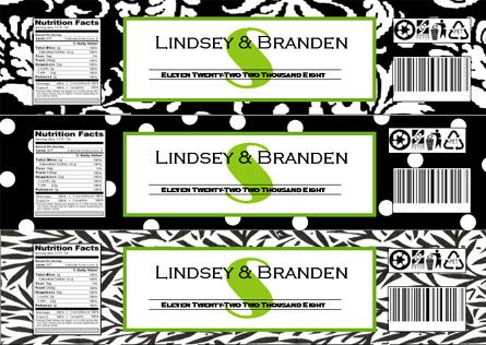 Freebie Fridays Printable Damask Patterns Labels free, Water - water bottle label template