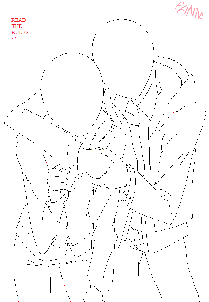 Anime Hugging Base : anime, hugging, Artists, Jacket, Thestar78956, Drawings, Friends,, Reference, Photos,, Anime, Poses