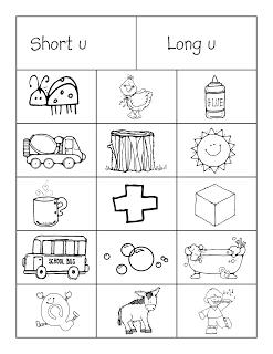 Short vs. Long Vowels (vowel-consonant-e) Color Sorting Worksheet ...