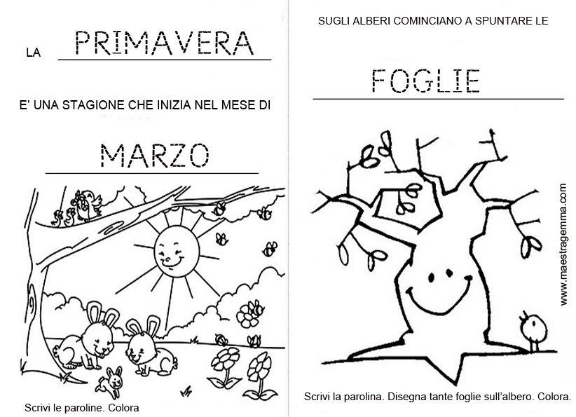 Pregrafismo maestra gemma primavera schede didattiche for Maestra gemma schede inverno
