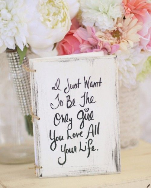 Interesting Way To Use Quotes In Your Wedding This Lil Book Used At The