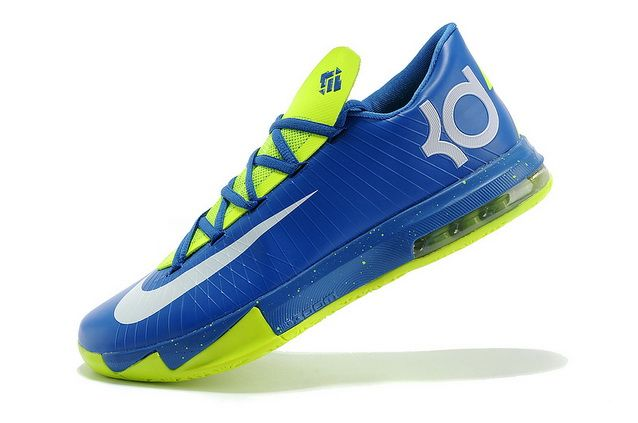 Nike Kevin Durant KD 6 VI Blue/Neon Green For Sale