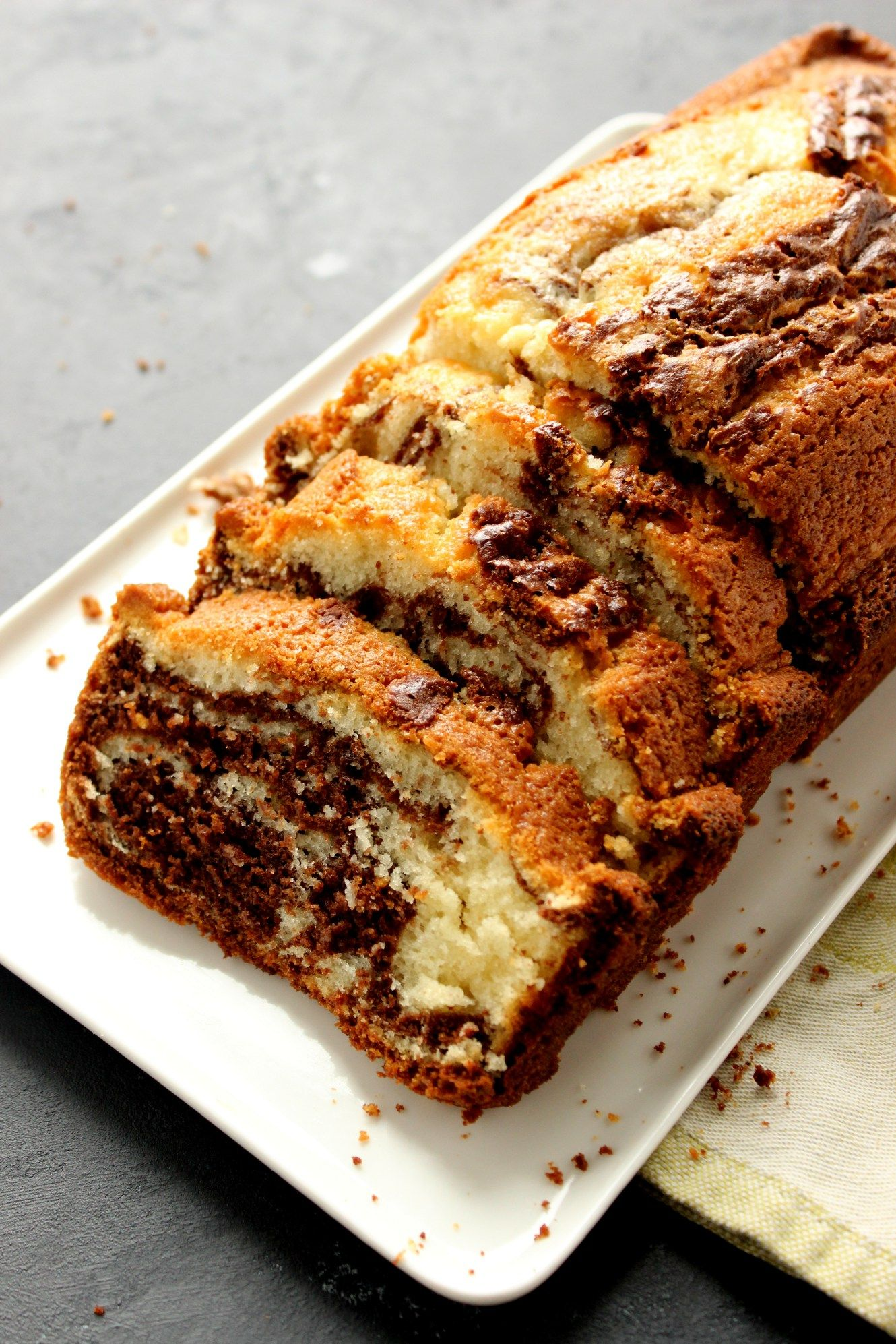 Easy Marble Cake With Oil Recipe Marble Pound Cakes Cake