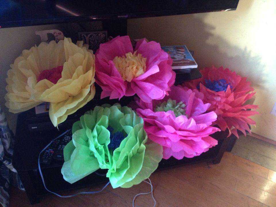Large tissue paper flowers party deco pinterest tissue paper large tissue paper flowers mightylinksfo