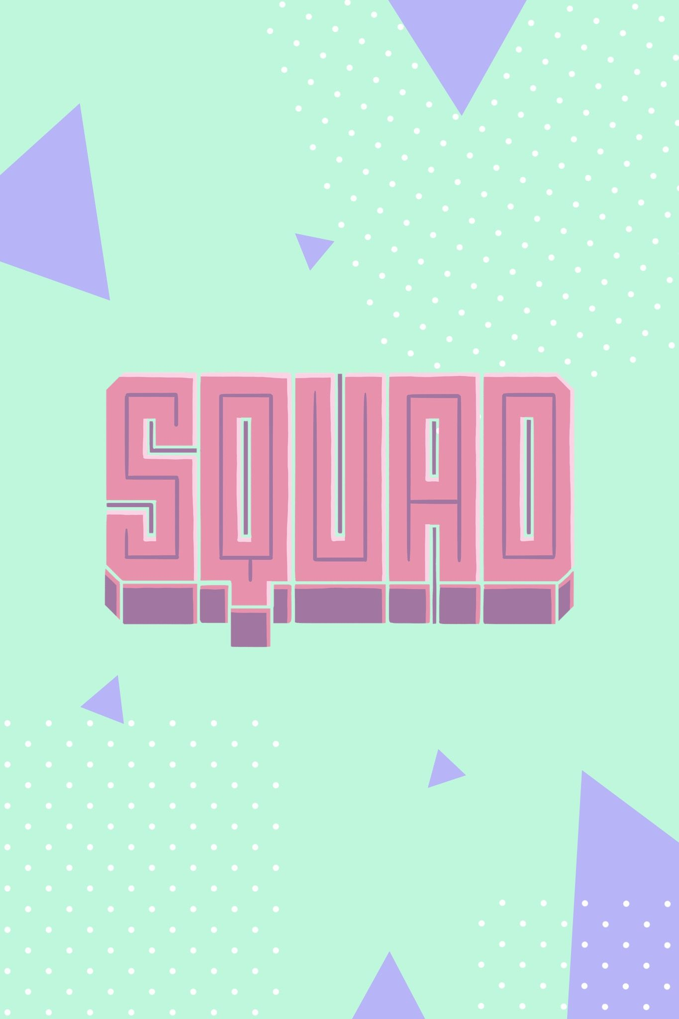 Squad Madewithover Text Image Iphone Wallpaper Photo Editing