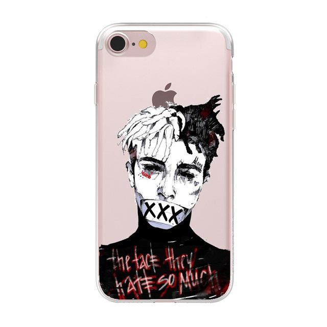 HryCase Ultra Thin Soft TPU Gel Silicon Xxxtentacion Case Cover For Apple  iPhone 8 7 X 6 Plus 5 5S SE Transparent Phone Cases c07f46070879