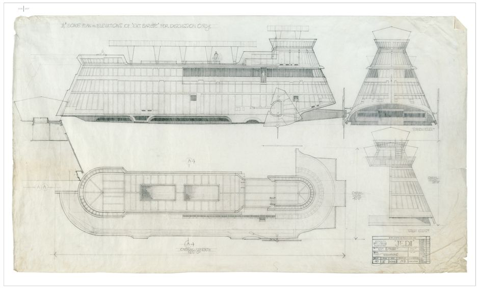 Jabbas sail barge google search saga edition rebellion era gallery blueprints of the star wars galaxy 11 malvernweather Images