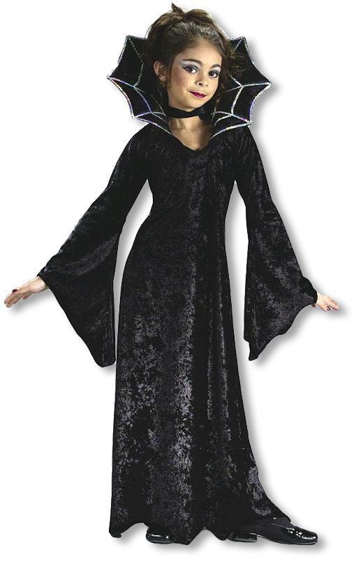 Spinnen Vampir Prinzessin Kinderkostum Large Fur Halloween Horror Shop Com Madchen Kostume Vampir Kostum Kinder Kinder Kostum