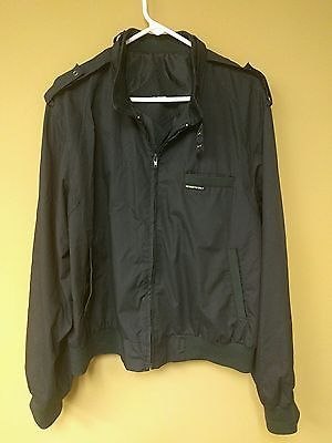Members Only Cafe Racer Jacket Navy Blue Mens Size 2XL