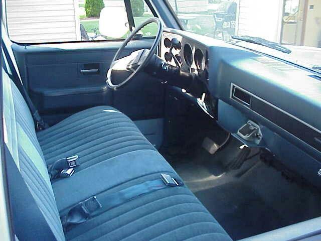 Bench Seats Classic Chevy Trucks Chevy Trucks Truck Interior